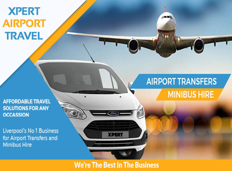 Airport Transfers Liverpool and Minubus Hire